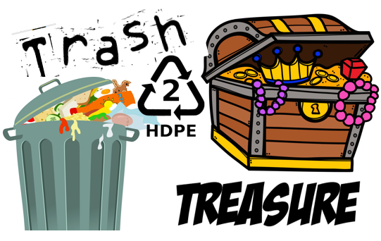 Week 1: Trash to Treasure (Re-using Plastic)