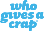 who gives a crap toilet roll logo